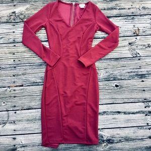 NWOT Tobi 'Miranda' Midi Dress